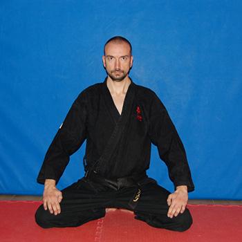 Istruttore II Dan di Ju Jitsu Alessio Festa