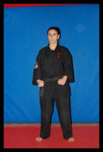 Allenatore Roberta Zanobi 1 dan ju jitsu | Settore Difesa Personale Comunicazione