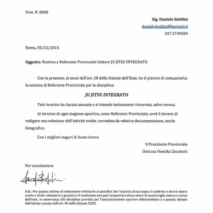 Referente-provinciale-jj-integrato MAESTRO 3 dan ju jitsu daniele boldini pomezia