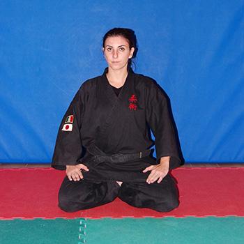 Istruttrice II Dan di Ju Jitsu Roberta Zanobi