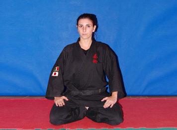Allenatore Roberta Zanobi 1 Dan Ju Jitsu