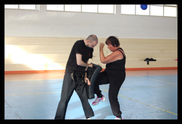 Foto stage difesa femminile