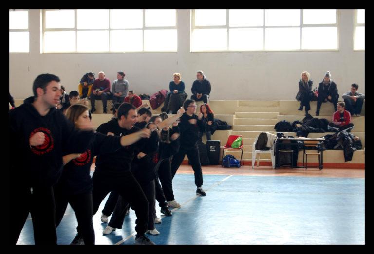 stage difesa personale femminile 22 gennaio 2017 asd yu dojo bushido ryu Pomezia