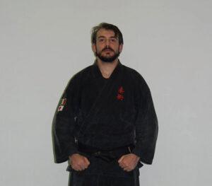 tiziano avanzati Cintura Nera I Dan di Ju Jitsu