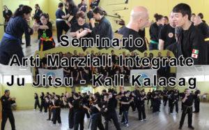 Seminario Ju Jitsu integrato e Kali Kalasag