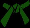 Cinture Obi Rappresentazione Dei Colori verde