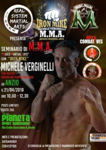 Seminario di MMA con il campione Michele Virginelli