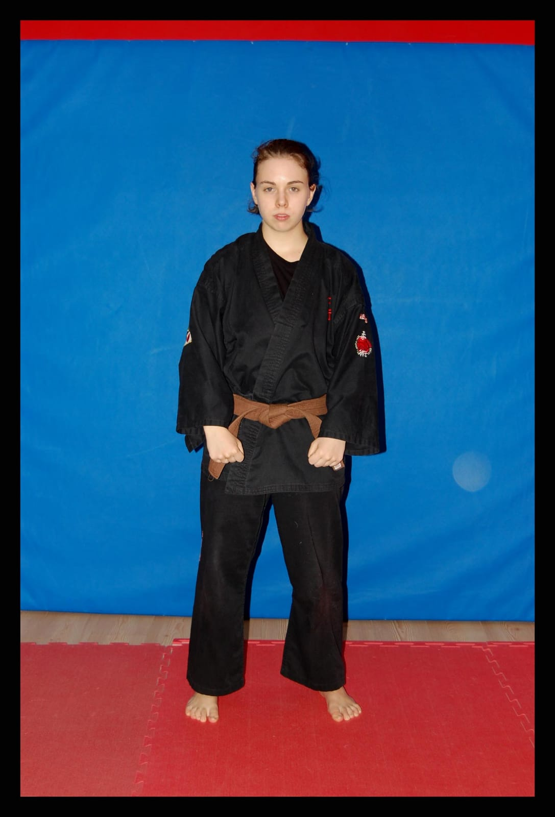 Praticante Elisa Mattei   a.s.d. yu dojo bushido ryu Pomezia