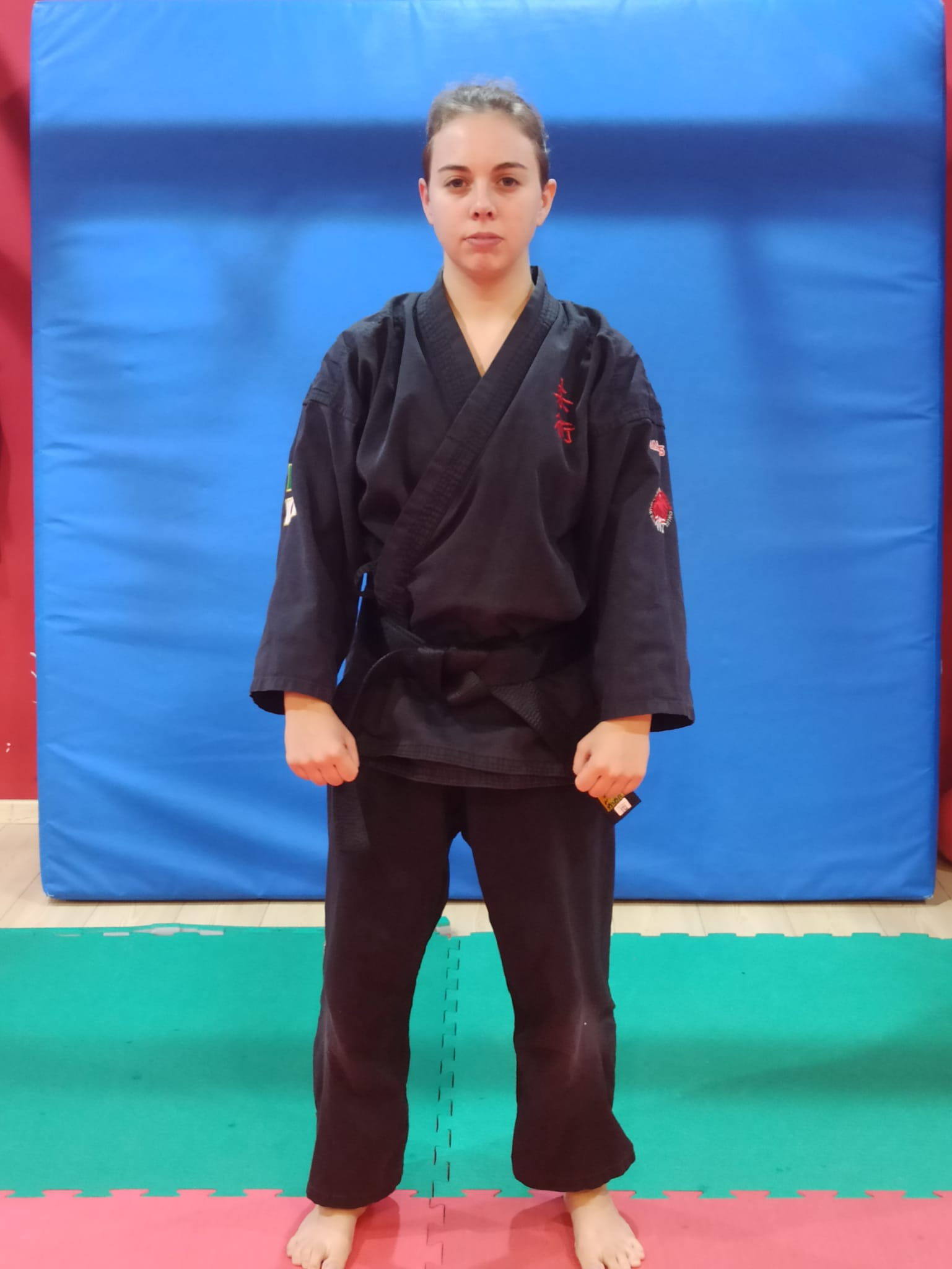Praticante Elisa Mattei | a.s.d. yu dojo bushido ryu Pomezia