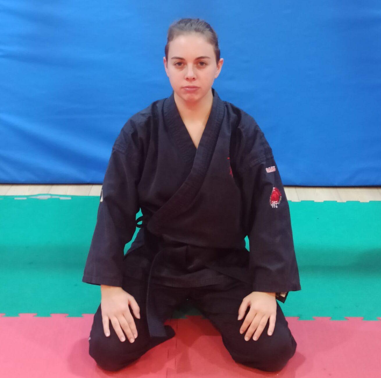 Allenatore I Dan di Ju Jitsu Elisa Mattei